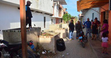 Recuperan alameda convertida en basural por vendedores de comida