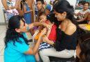 Diresa dispone de 30 mil dosis para vacunar a niños contra la influenza
