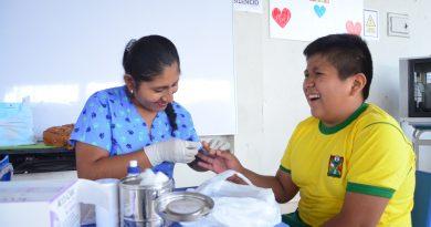CEFODIA atiende a 160 escolares en 2º  feria integral de salud