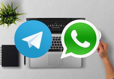 Cómo intercambiar fotos y vídeos entre móvil y PC con Telegram y WhatsApp