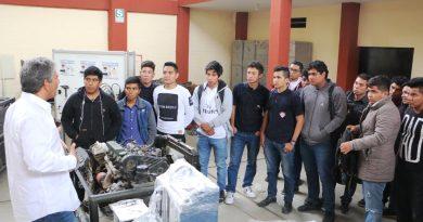Hilbck supervisó instituto Juan José Farfán Céspedes de Sullana próximo a inaugurar