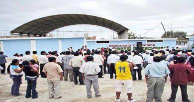 Comuneros sechuranos exigen a Pdte Sebastián Espinoza que se respete el estatuto comunal y acepté el Comité electoral elegido el 9 de octubre en asamblea pública
