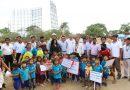 Gobernador Regional coloca primera piedra en colegio inicial de Pedregal Grande