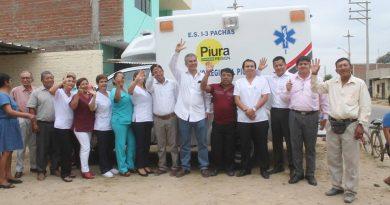Entregan modernas ambulancias para centros de salud de Yamango y Paccha