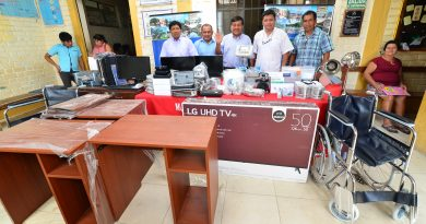 Implementan centro de salud de Sinchi Roca