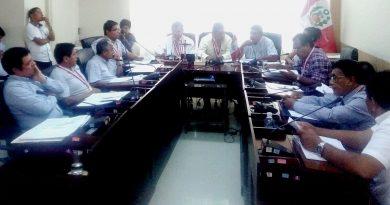 Consejo Regional aprueba que gobernación alcance relación de funcionarios hábiles y sin antecedentes
