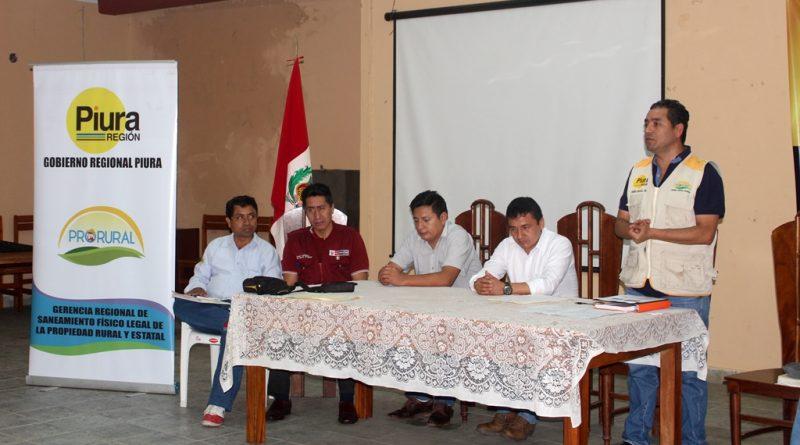 Pro Rural inicia proceso de titulación masiva con agricultores en Frías