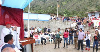 Gobernador regional inicia trabajos de mejoramiento del hospital en Huancabamba