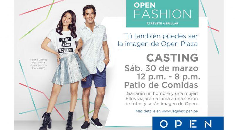 Se abre casting para el Open Fashion 2019