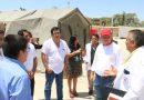 Gobernador anuncia construcción de módulos temporales para hospital Santa Rosa