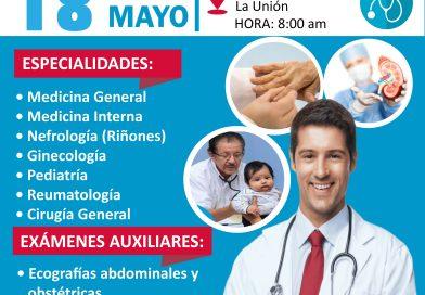 Campaña médica en La Unión