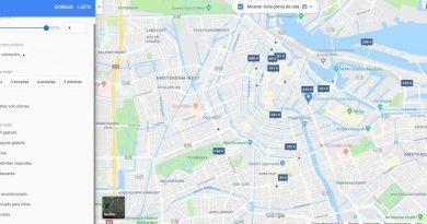 Cómo buscar hoteles y lugares de interés en Google Maps