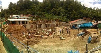 Construcción de establecimiento de salud en Canchaque supera avance físico programado